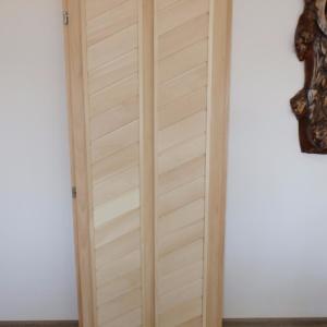 Дверь для бани глухая двухфиленчатая 1,90х0,70