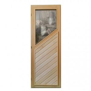 дверь с полустеклом