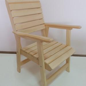 Кресло для бани из липы