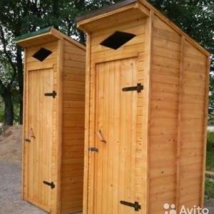 Туалеты дачные, будки для питомцев
